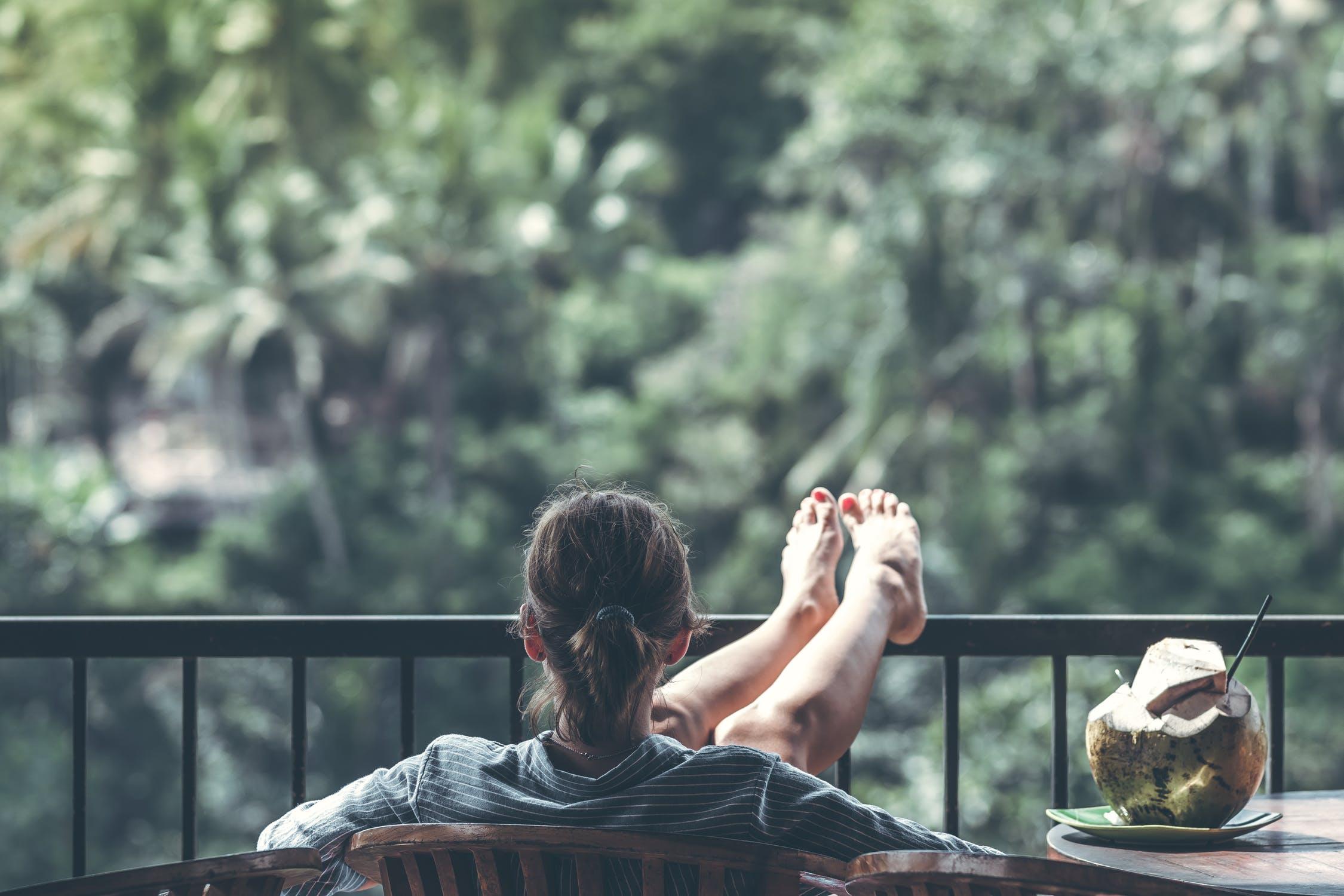 Glade fødder